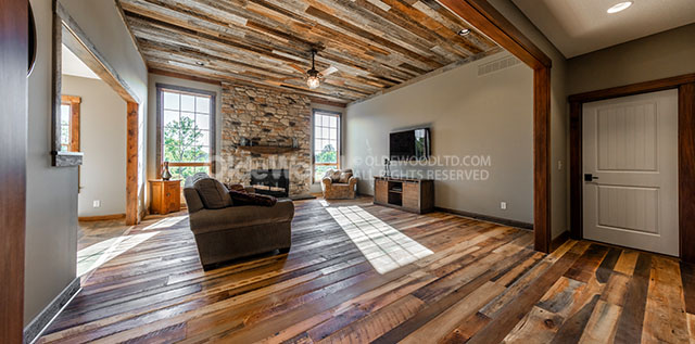 5 Gorgeous Ways to Include Reclaimed Wood in Your Home
